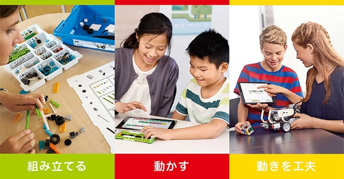 Z会プログラミング講座 with LEGO(R) Educationの特徴用画像2